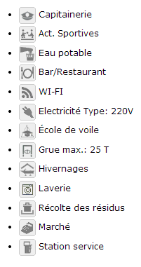 BRYC-Capitainerie Bruxelles Royal Yacht Club - Infrastructure
